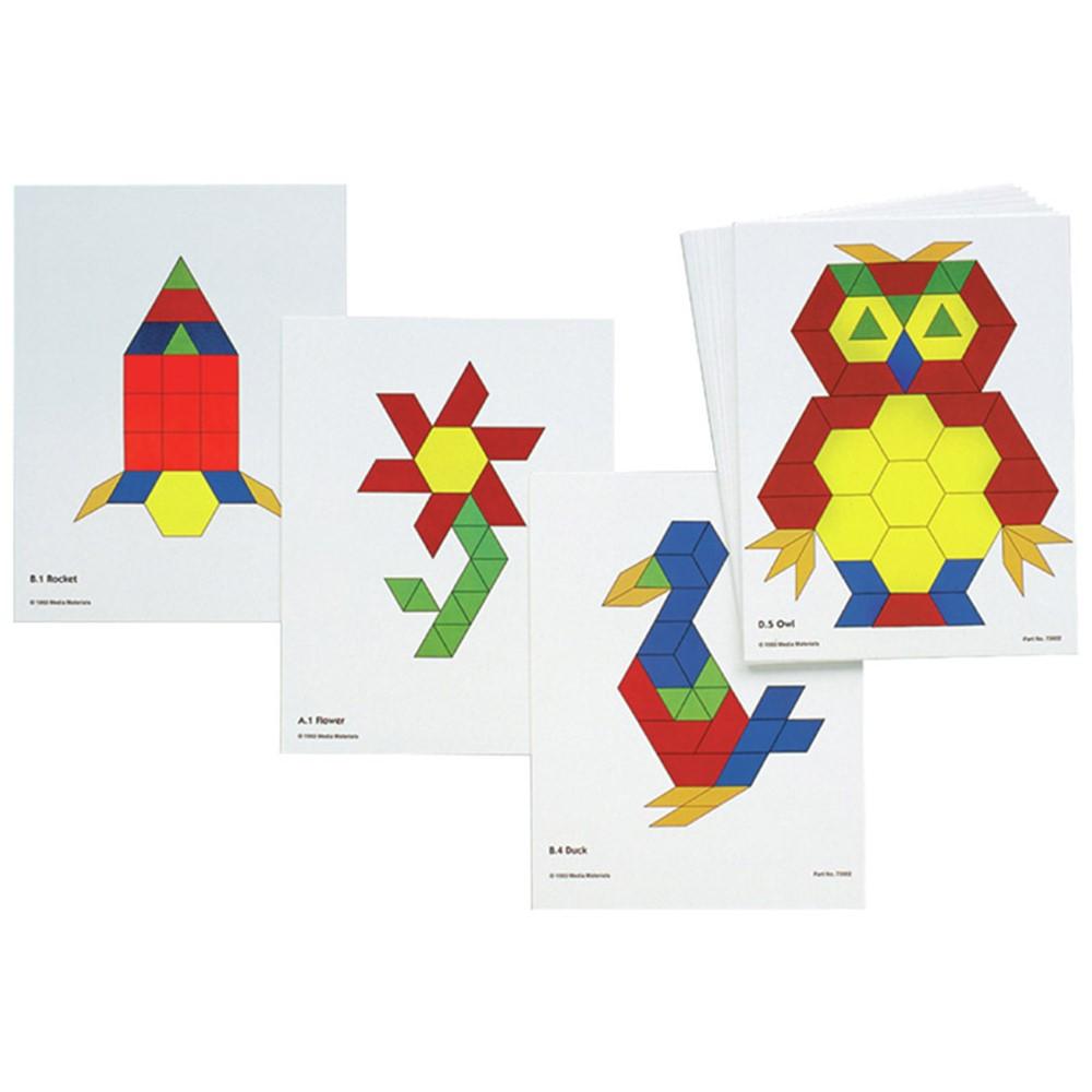 CTU8837 - Pattern Block Activity Cards in Patterning