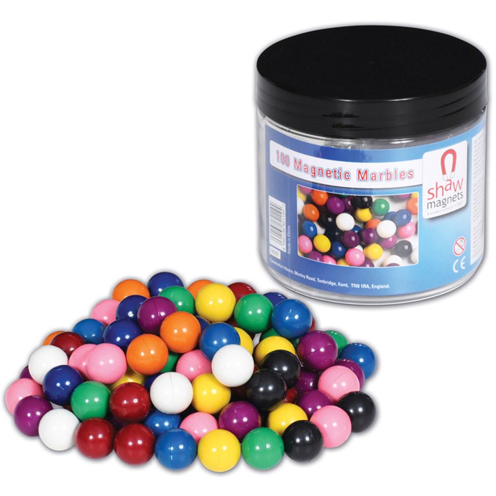 CTU9000 - Magnetic Marbles Set Of 100 in Magnetism