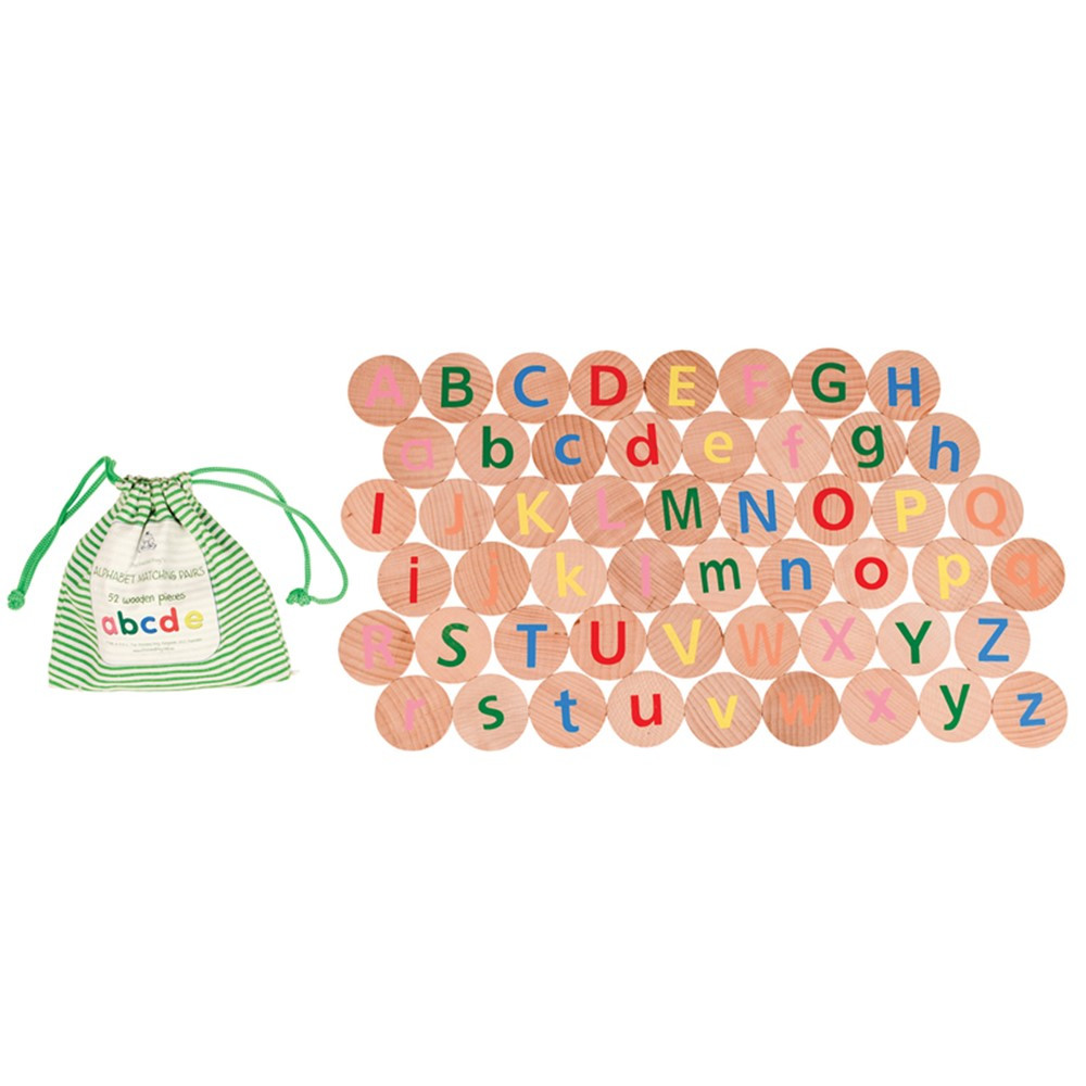 Alphabet Matching Pairs Memory Game - CTUFF2999   Learning Advantage   Patterning