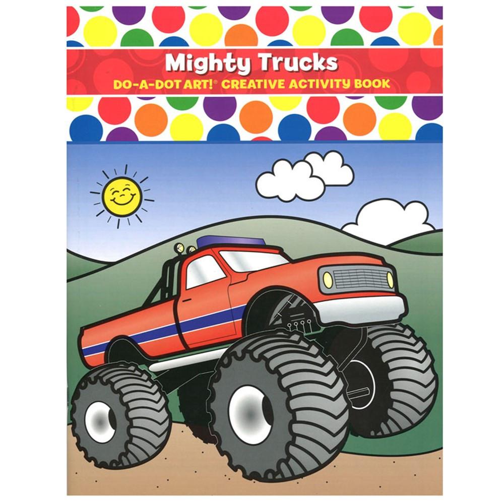 DADB375 - Mighty Trucks Activity Book in Art Activity Books