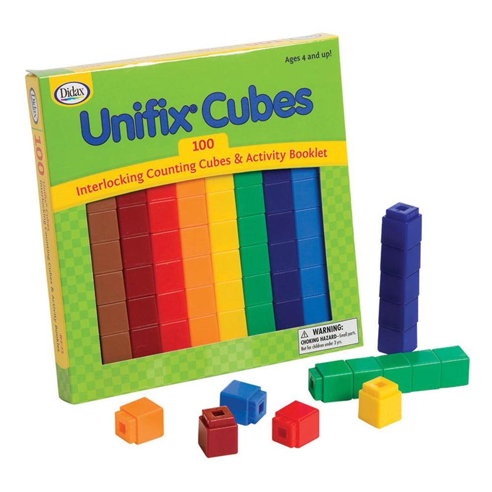 DD-225 - Unifix Cubes 100 Asst Colors in Unifix