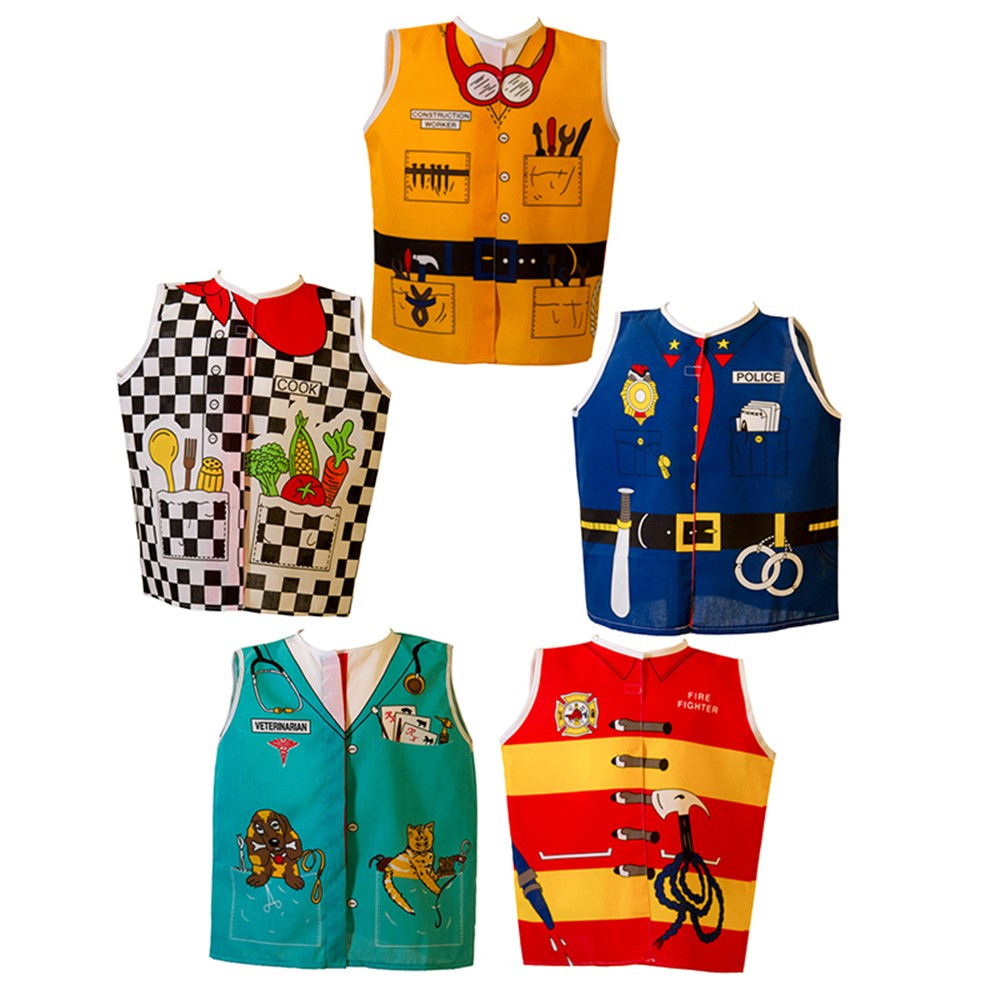 DEX309 - Toddler Dress-Ups Animals Set Of 5 in Role Play