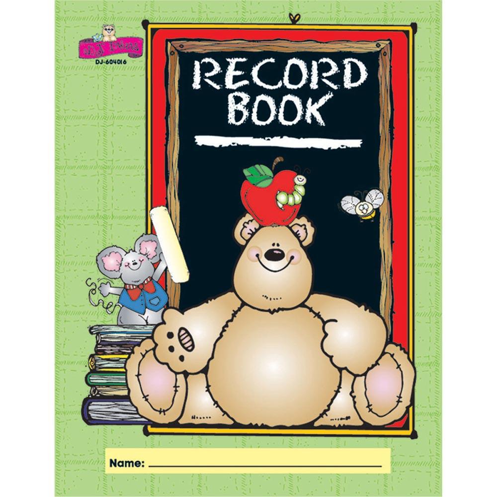DJ-604016 - Dj Inkers Record Book in Plan & Record Books