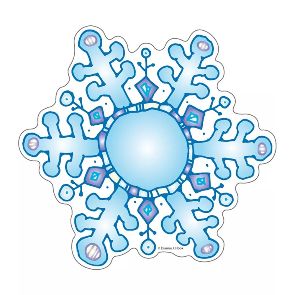 DJ-620009 - Snowflakes Cut-Outs in Holiday/seasonal