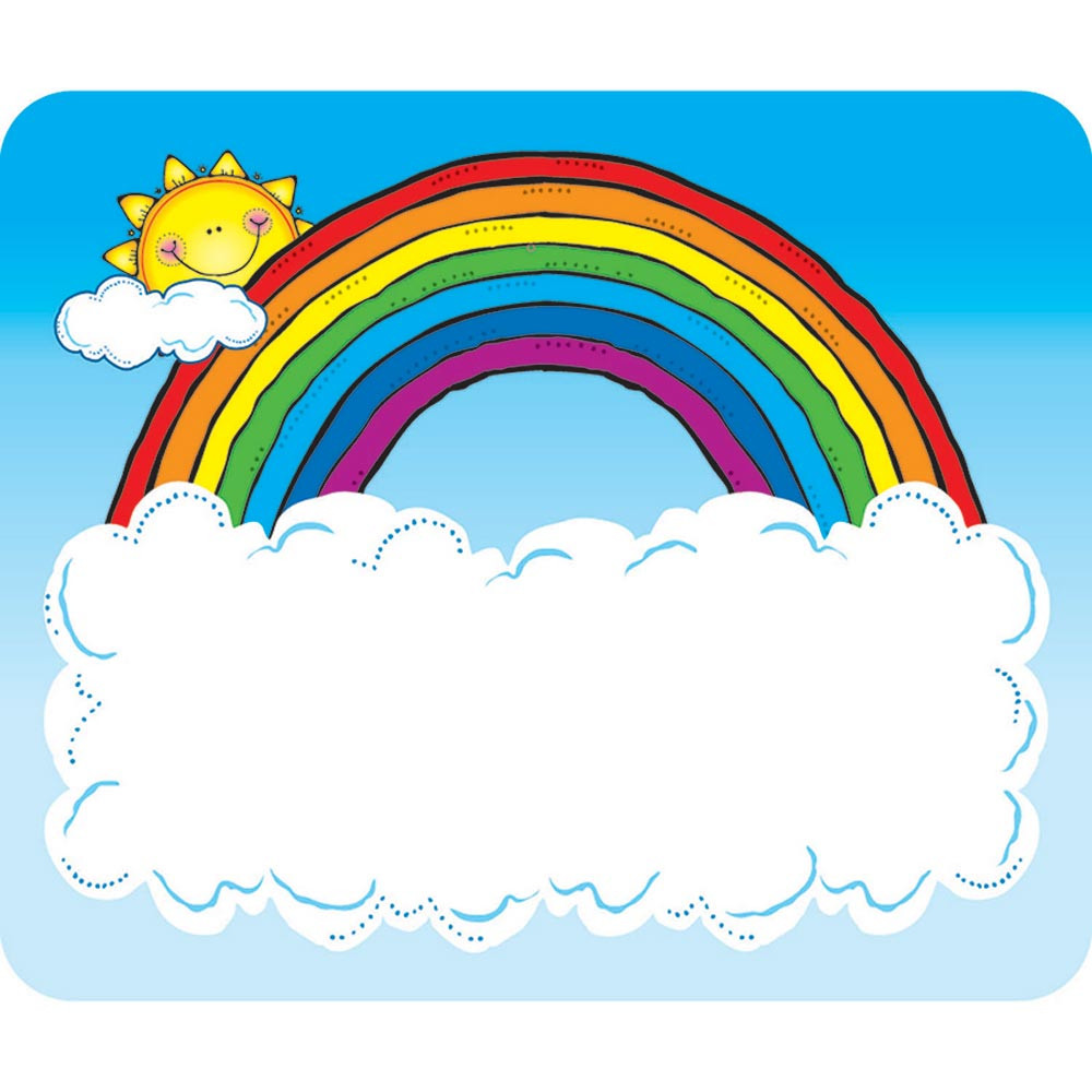 Name Tags Sun N Rainbow - DJ-650005
