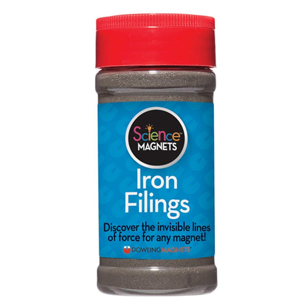 DO-731019 - 12 Oz Jar Iron Filings in Magnetism