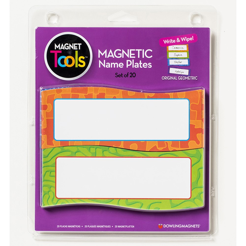 DO-735205 - Magnetic Name Plates 20 Pcs in Name Plates