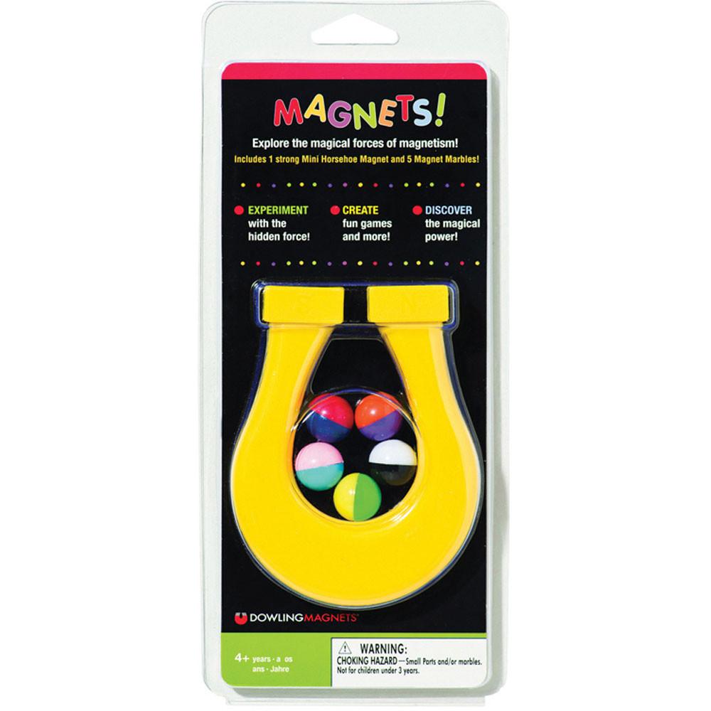 DO-736609 - Mini Horseshoe Magnet & 5 Magnet Marbles in Magnetism
