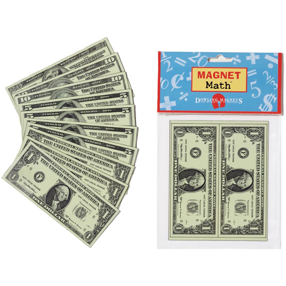 DO-MA16 - Magnet Bills in Money