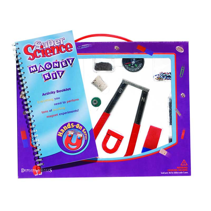 DO-MK503 - Magnet Kit Science W/ Magnets Ages 8 & Up in Magnetism
