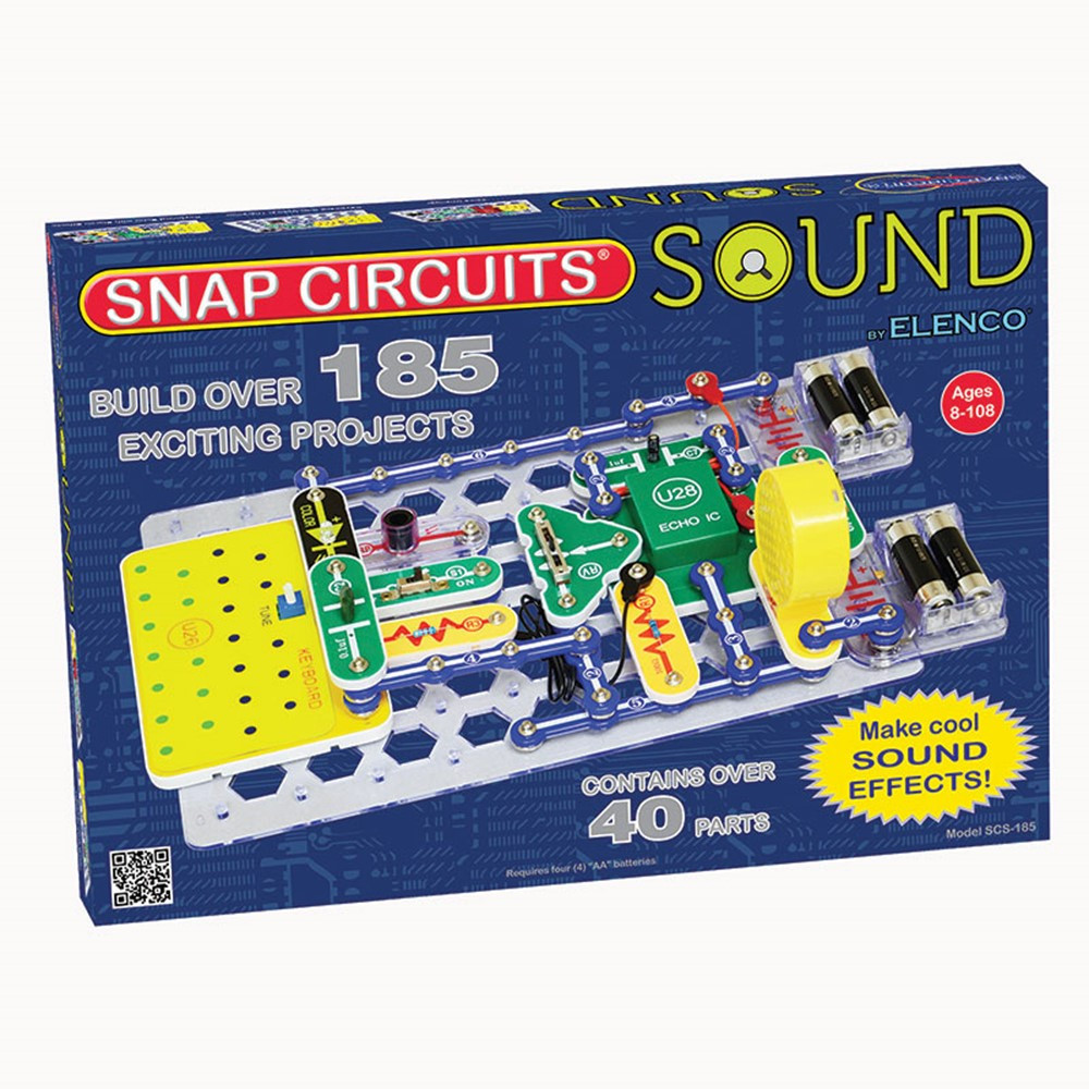 EE-SCS185 - Snap Circuits Sound in Experiments