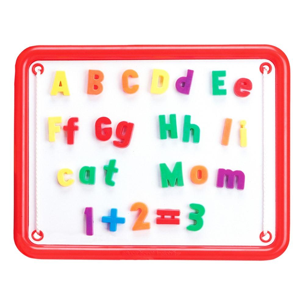 EI-1782 - Magnetic Alphaboard 99 Pcs 11 X 14 Board in Magnetic Letters