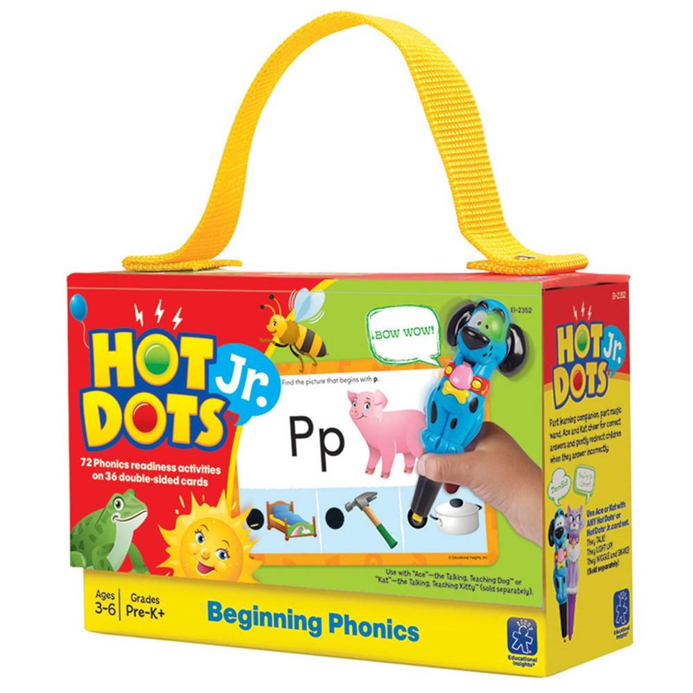 EI-2352 - Hot Dots Jr Cards Beginning Phonics in Hot Dots