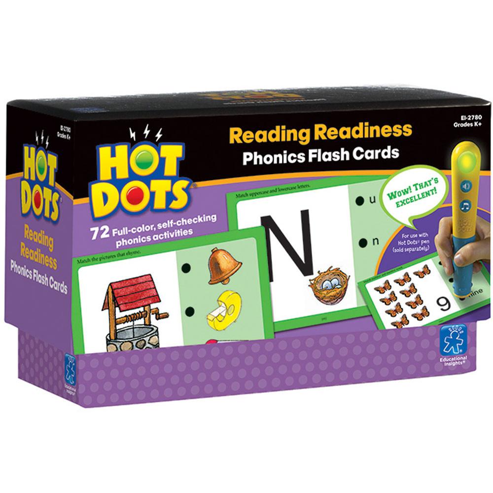 EI-2780 - Hot Dots Phonics Program Set 1 Readiness in Hot Dots