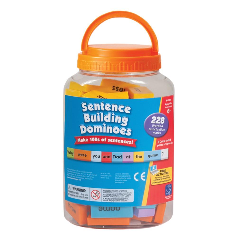 EI-2943 - Sentence Building Dominoes in Dominoes
