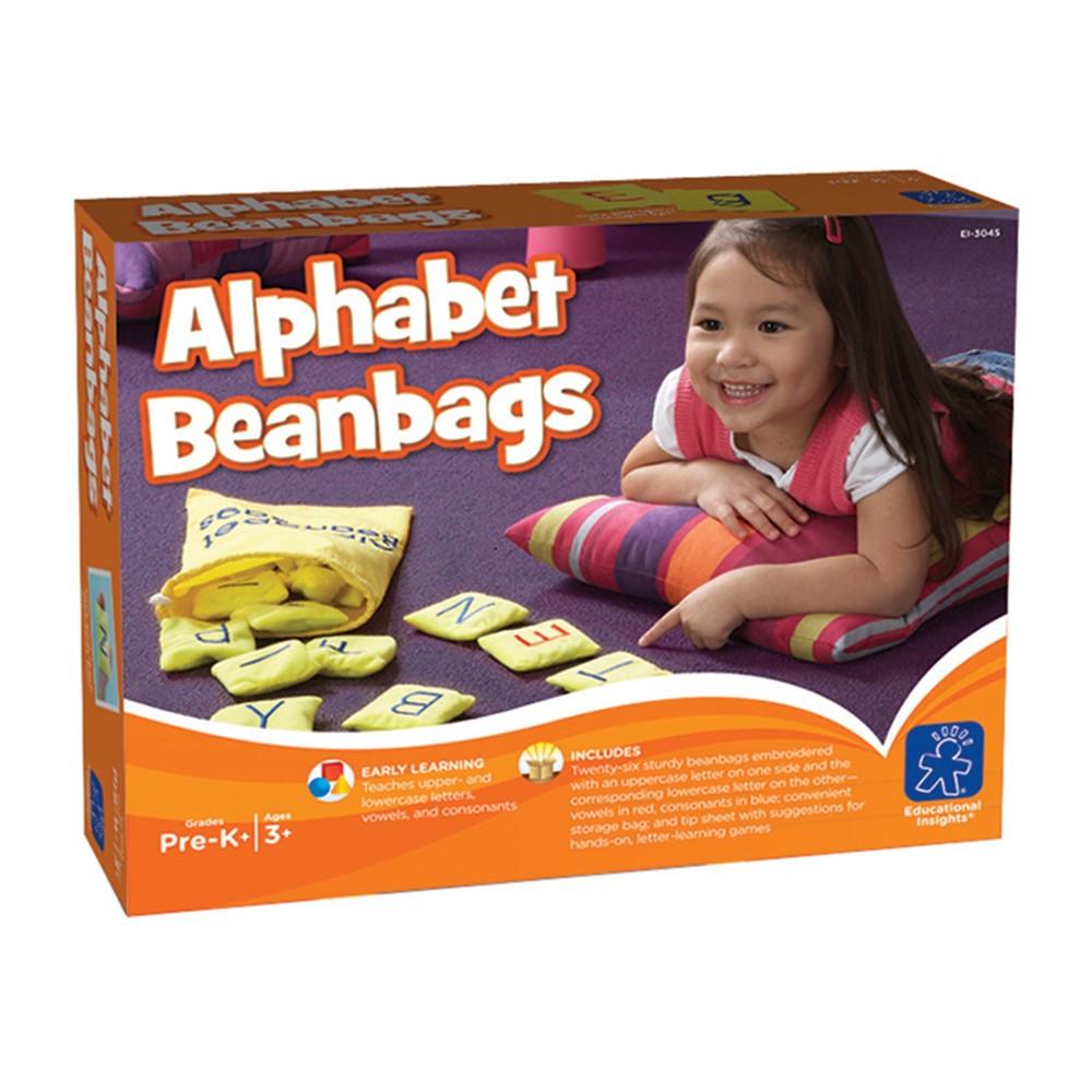 EI-3045 - Alphabet Bean Bags in Bean Bags & Tossing Activities