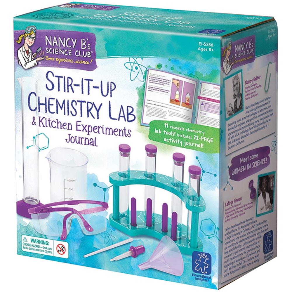 Nancy Bs Science Club Stir-It-Up Chemistry Lab & Kitchen