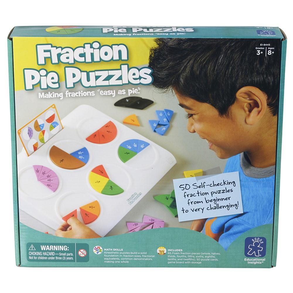 EI-8445 - Fraction Pie Puzzles in Puzzles