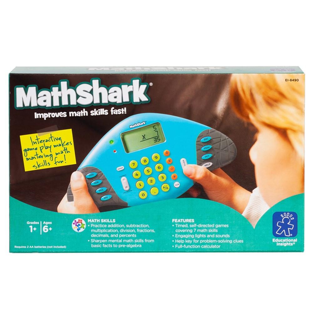 EI-8490 - Mathshark Gr 1 & Up in Math