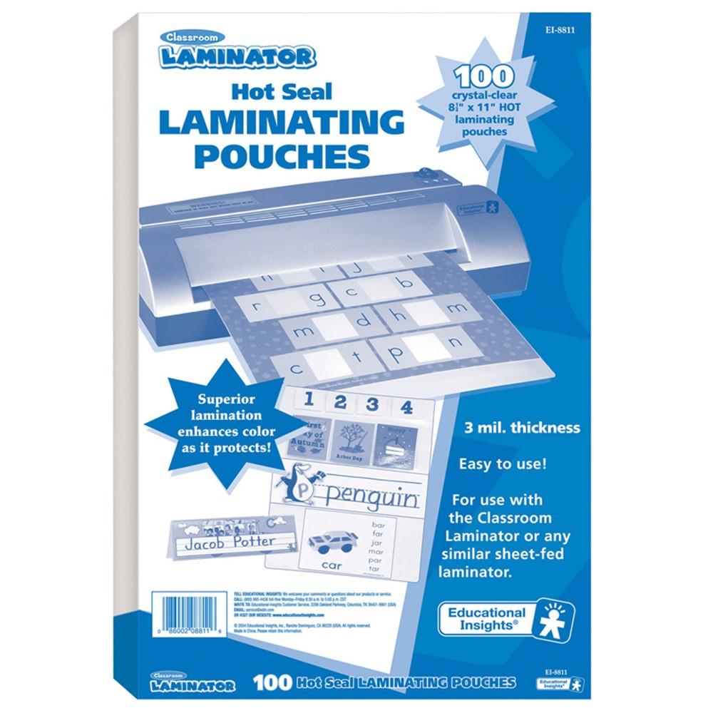 EI-8811 - Classroom Laminator Pouches in Laminators
