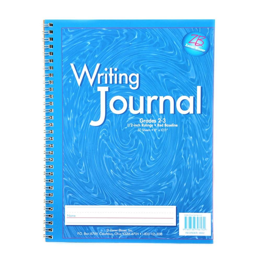 ELP0602 - My Writing Journals Blue Gr 2-3 in Writing Skills