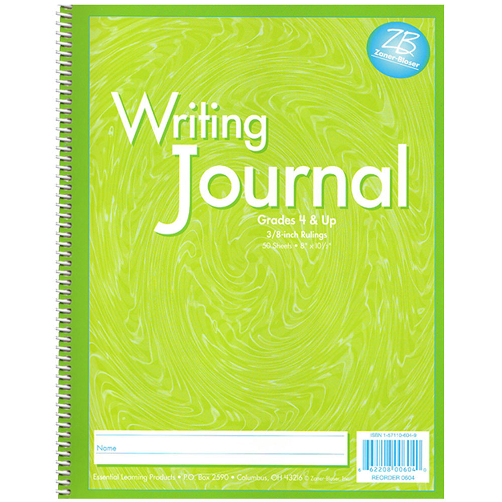 ELP0604 - My Writing Journals Green Gr 4 Up in Writing Skills