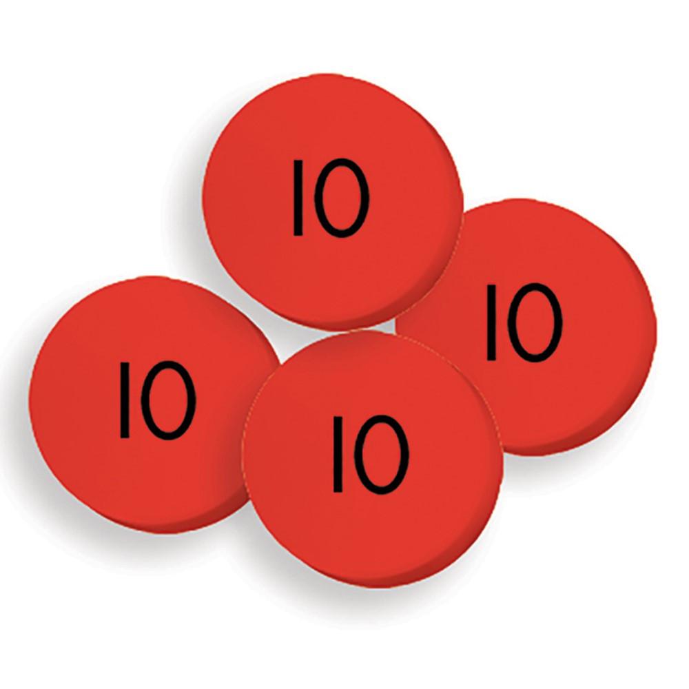 ELP626651 - 100 Tens Place Value Discs Set in Manipulative Kits