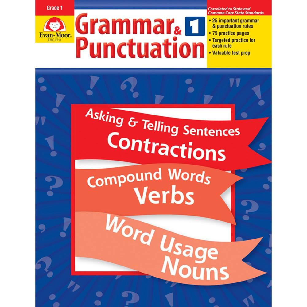 EMC2711 - Grammar & Punctuation Gr 1 in Grammar Skills