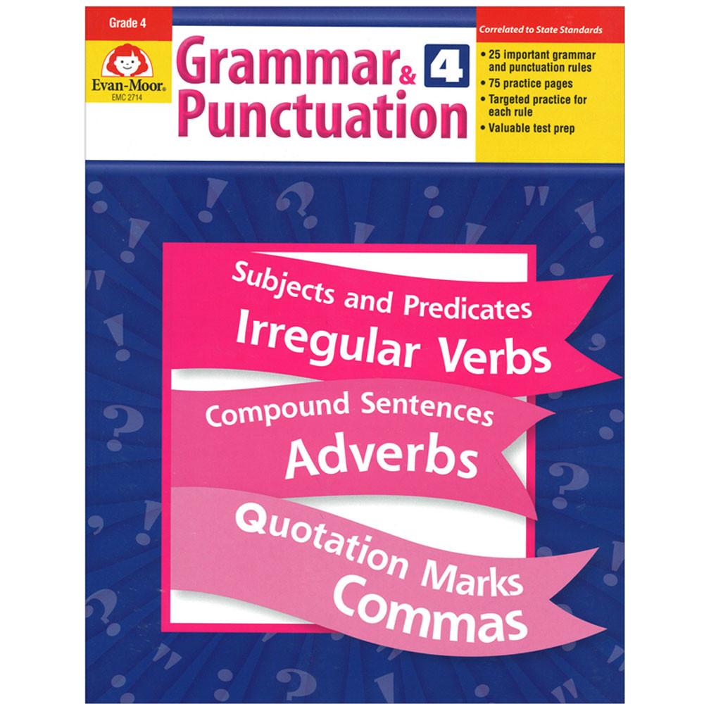 EMC2714 - Grammar & Punctuation Gr 4 in Grammar Skills