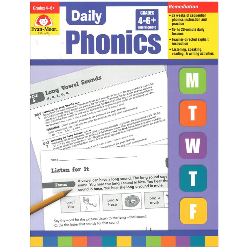 EMC2790 - Daily Phonics Practice Gr 4-6 in Phonics