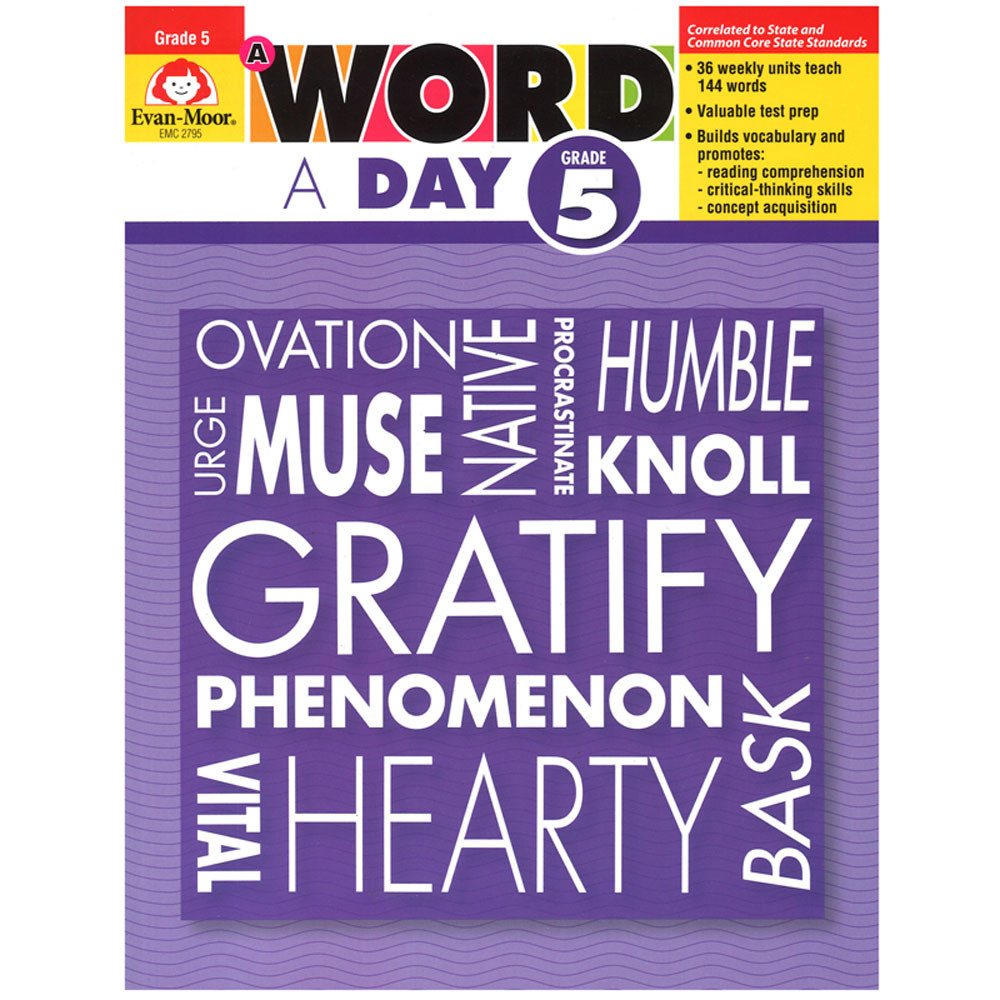 EMC2795 - A Word A Day Gr 5 in Vocabulary Skills
