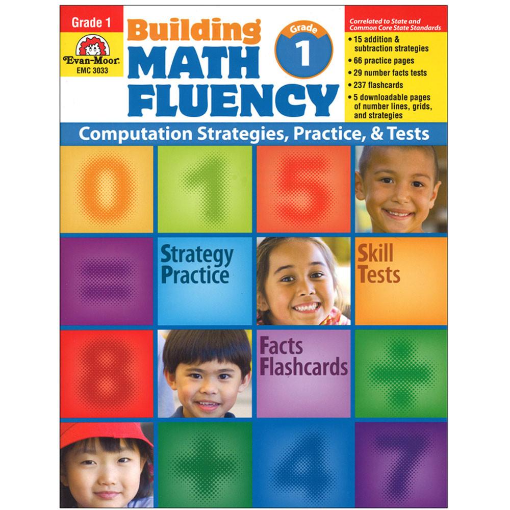 EMC3033 - Math Fluency Gr 1 in Activity Books
