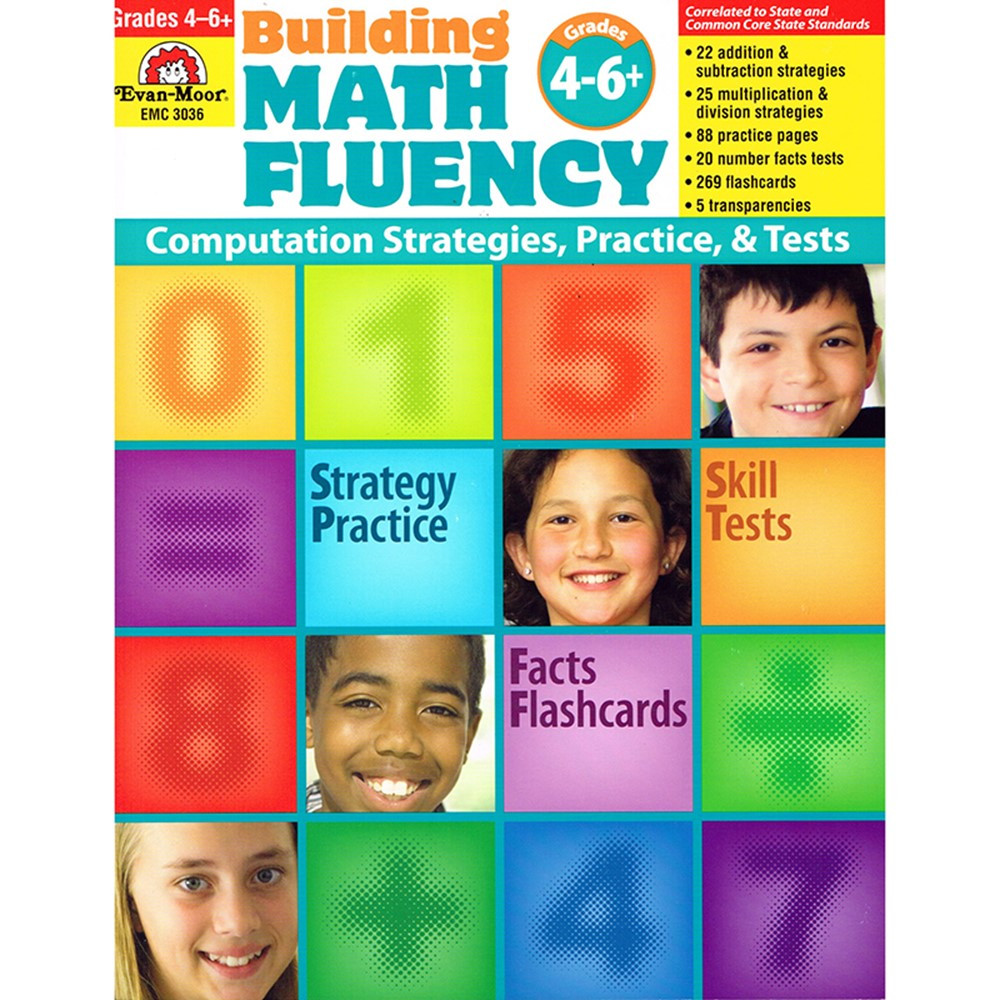 EMC3036 - Math Fluency Gr 4 in Activity Books