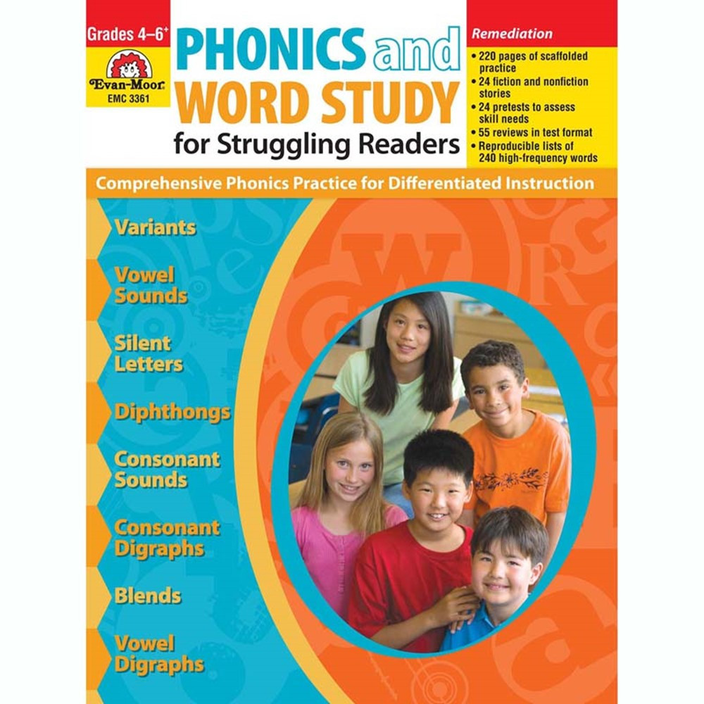 EMC3361 - Phonics & Word Study For Struggling Readers in Phonics