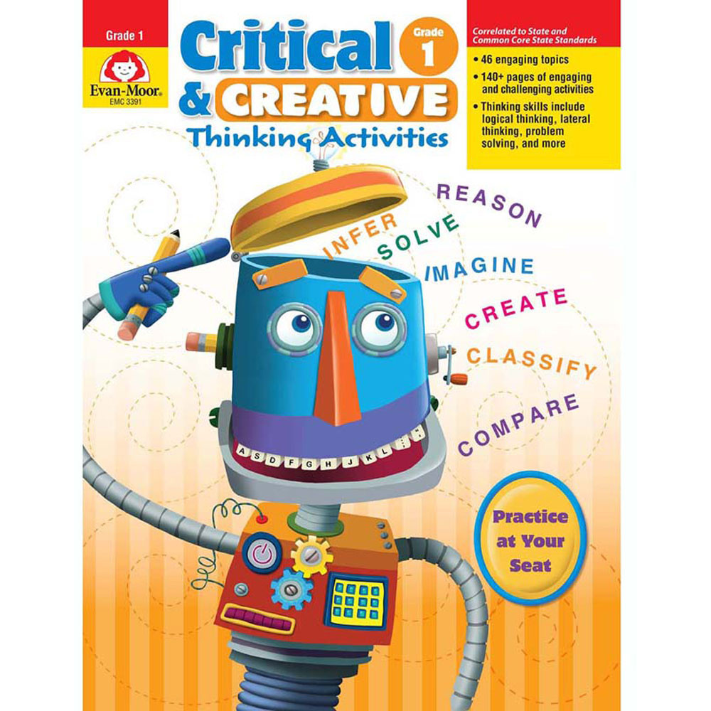EMC3391 - Critical And Creative Thinking Activities Gr 1 in Games & Activities