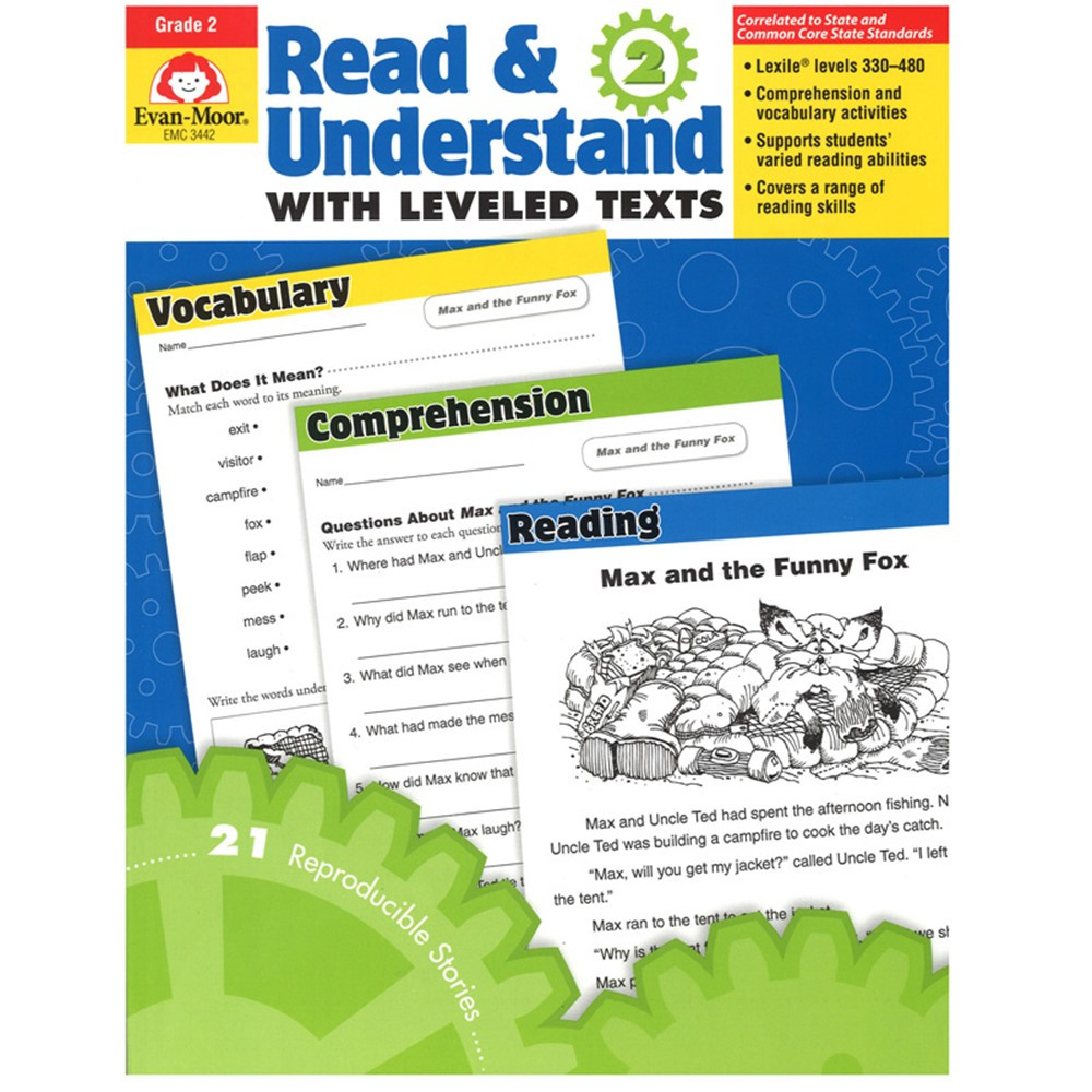 EMC3442 - Read And Understand Stories And Activities Gr 2 in Reading Skills