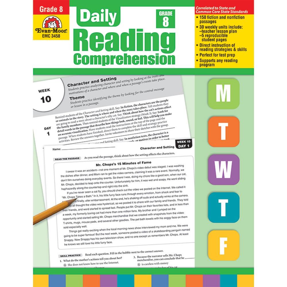 evan moor daily reading comprehension pdf