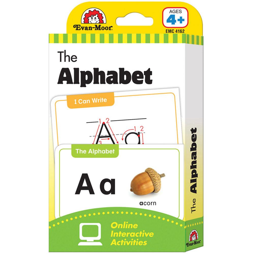 EMC4162 - Flashcard Set The Alphabet in Letter Recognition