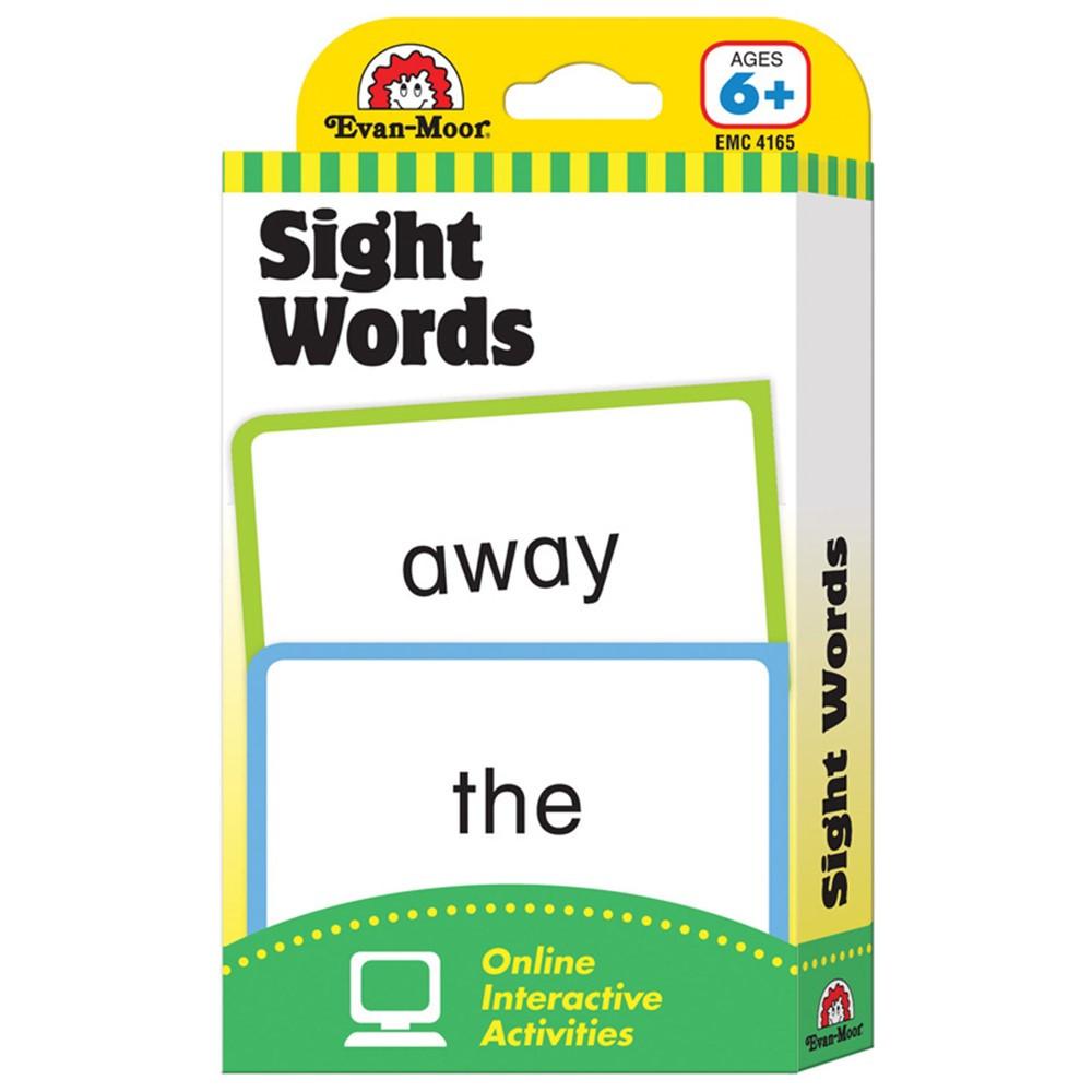 EMC4165 - Flashcard Set Sight Words in Sight Words