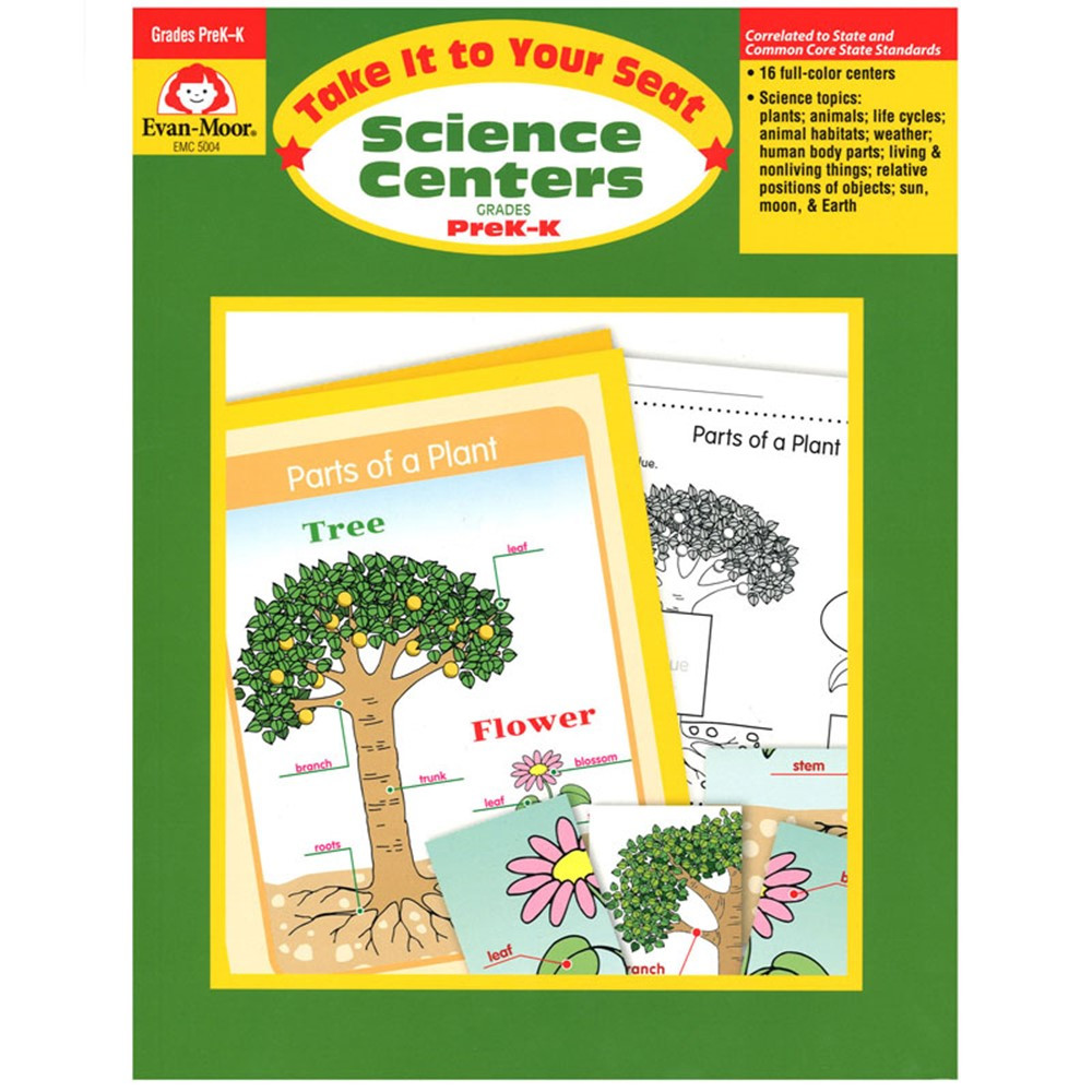 EMC5004 - Science Centers Prek-K in Activity Books & Kits