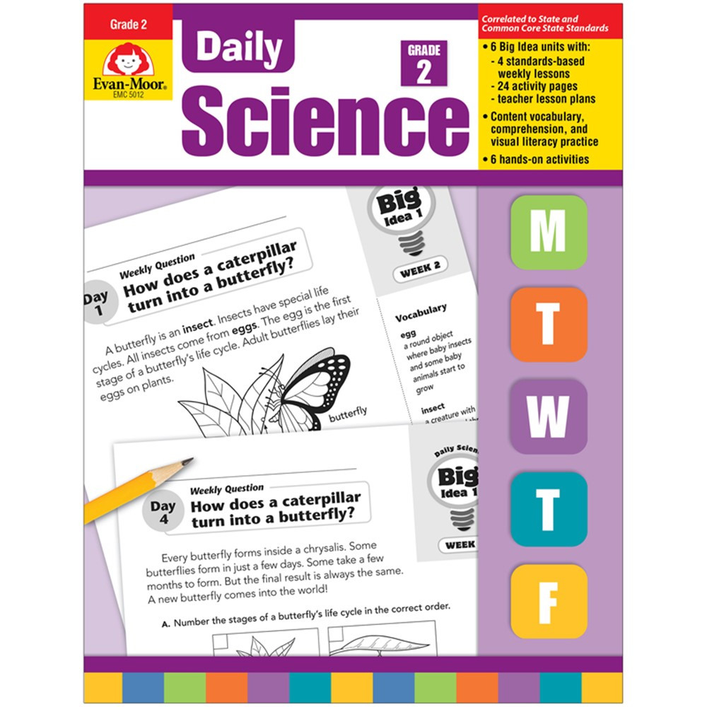 EMC5012 - Daily Science Gr 2 in Activity Books & Kits