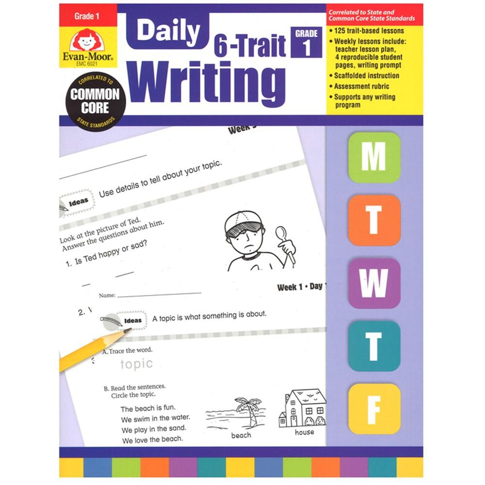 EMC6021 - Daily 6 Trait Writing Gr 1 in Writing Skills