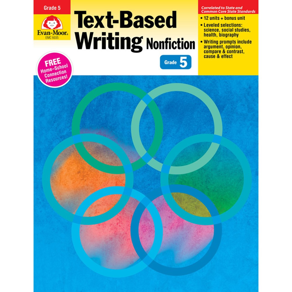 EMC6035 - Gr 5 Text Based Writing Lessons For Common Core Mastery in Writing Skills