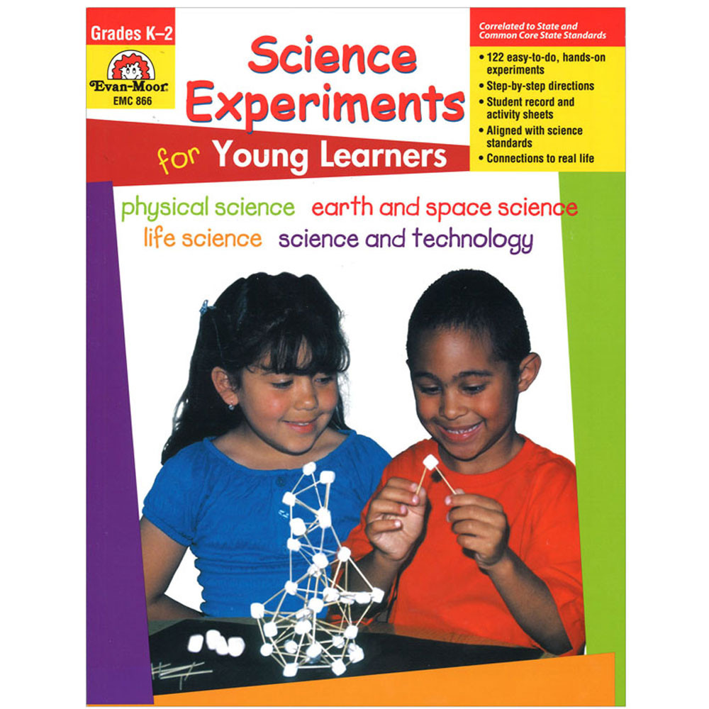 EMC866 - Science Experiments For Young Learners in Experiments