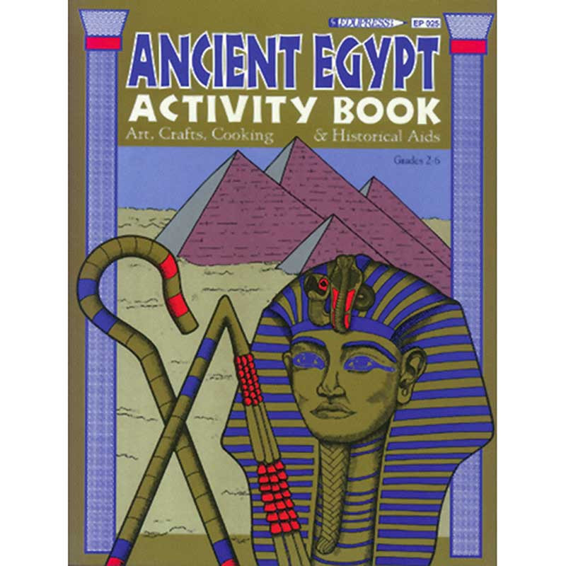 EP-025 - Activity Book Ancient Egypt Gr 2-6 in History