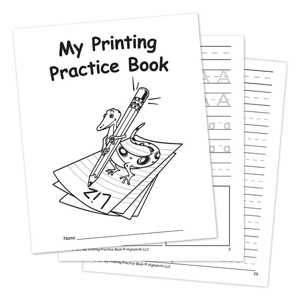 EP-031 - My Own Printing Practice Book in Letter Recognition