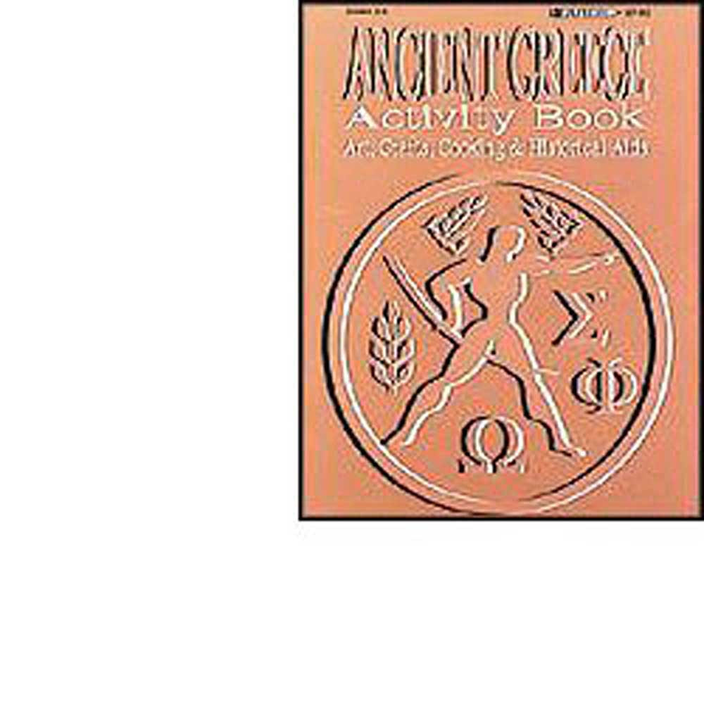 EP-062 - Activity Book Ancient Greece Gr 2-6 in History