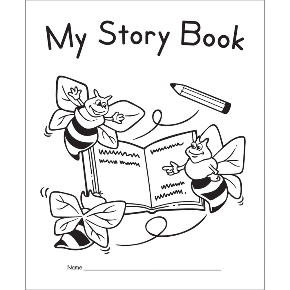 EP-145G - My Story Book Primary 10Pk in Writing Skills