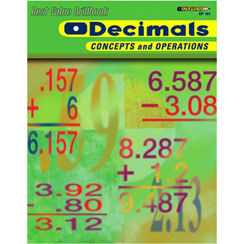 EP-161 - Decimals Concepts & Operations in Fractions & Decimals