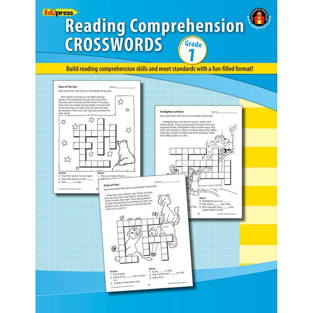 EP-185R - Comprehension Crosswords Book Gr 1 in Comprehension